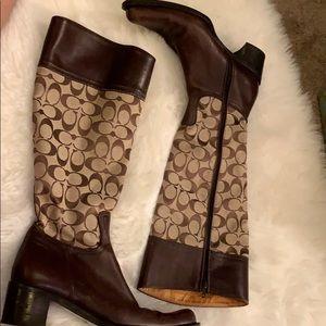 Coach riding boots